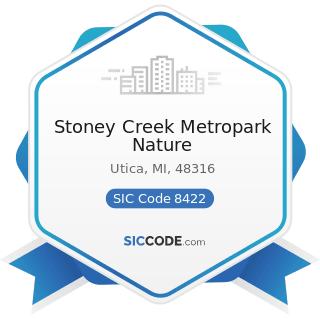 Stoney Creek Metropark Nature - SIC Code 8422 - Arboreta and Botanical or Zoological Gardens