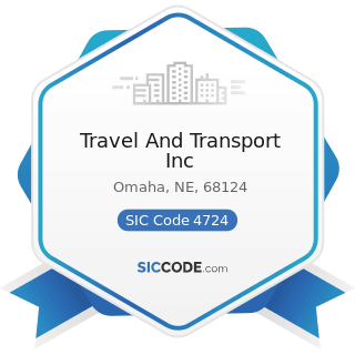 Travel And Transport Inc - SIC Code 4724 - Travel Agencies