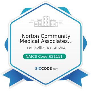Norton Community Medical Associates Barret - NAICS Code 621111 - Offices of Physicians (except...