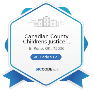 Canadian County Childrens Justice Center - SIC Code 9121 - Legislative Bodies