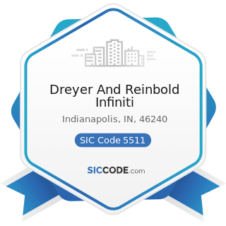 Dreyer And Reinbold Infiniti - SIC Code 5511 - Motor Vehicle Dealers (New and Used)