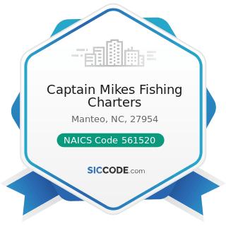 Captain Mikes Fishing Charters - NAICS Code 561520 - Tour Operators