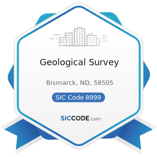 Geological Survey - SIC Code 8999 - Services, Not Elsewhere Classified