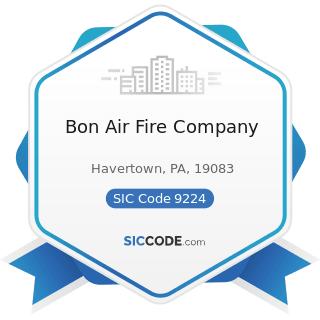 Bon Air Fire Company - SIC Code 9224 - Fire Protection