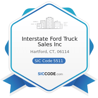 Interstate Ford Truck Sales Inc - SIC Code 5511 - Motor Vehicle Dealers (New and Used)