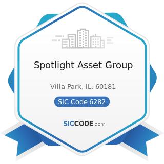 Spotlight Asset Group - SIC Code 6282 - Investment Advice