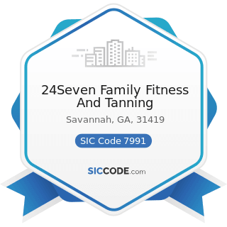 24Seven Family Fitness And Tanning - SIC Code 7991 - Physical Fitness Facilities