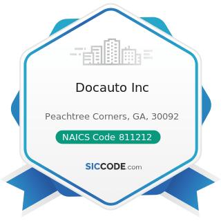 Docauto Inc - NAICS Code 811212 - Computer and Office Machine Repair and Maintenance