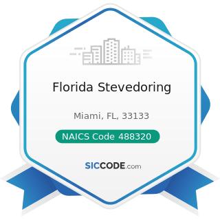 Florida Stevedoring - NAICS Code 488320 - Marine Cargo Handling