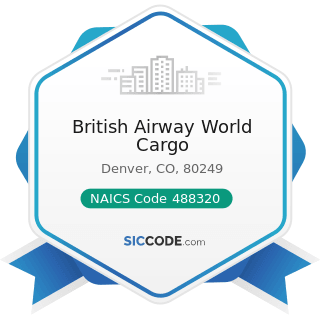 British Airway World Cargo - NAICS Code 488320 - Marine Cargo Handling