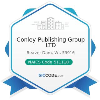 Conley Publishing Group LTD - NAICS Code 511110 - Newspaper Publishers