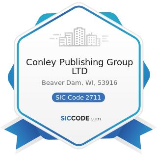 Conley Publishing Group LTD - SIC Code 2711 - Newspapers: Publishing, or Publishing and Printing