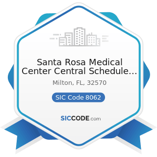 Santa Rosa Medical Center Central Schedule A mammogram - SIC Code 8062 - General Medical and...
