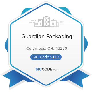 Guardian Packaging - SIC Code 5113 - Industrial and Personal Service Paper