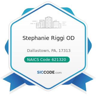 Stephanie Riggi OD - NAICS Code 621320 - Offices of Optometrists