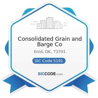 Consolidated Grain and Barge Co - SIC Code 5191 - Farm Supplies