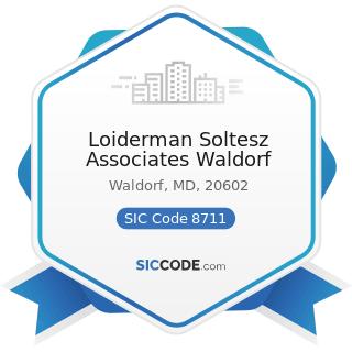 Loiderman Soltesz Associates Waldorf - SIC Code 8711 - Engineering Services