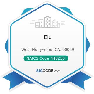 Elu - NAICS Code 448210 - Shoe Stores
