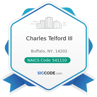 Charles Telford III - NAICS Code 541110 - Offices of Lawyers