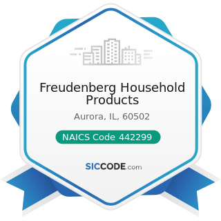 Freudenberg Household Products - NAICS Code 442299 - All Other Home Furnishings Stores