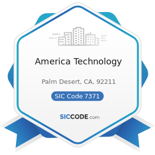 America Technology - SIC Code 7371 - Computer Programming Services