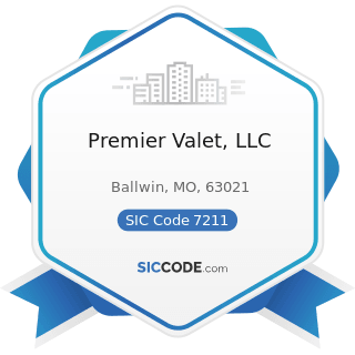 Premier Valet, LLC - SIC Code 7211 - Power Laundries, Family and Commercial