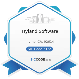 Hyland Software - SIC Code 7372 - Prepackaged Software