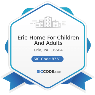 Erie Home For Children And Adults - SIC Code 8361 - Residential Care
