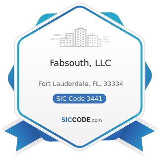 Fabsouth, LLC - SIC Code 3441 - Fabricated Structural Metal
