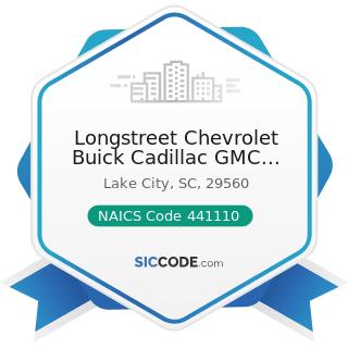 Longstreet Chevrolet Buick Cadillac GMC Truck - NAICS Code 441110 - New Car Dealers