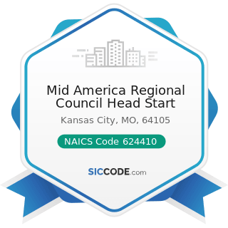 Mid America Regional Council Head Start - NAICS Code 624410 - Child Day Care Services