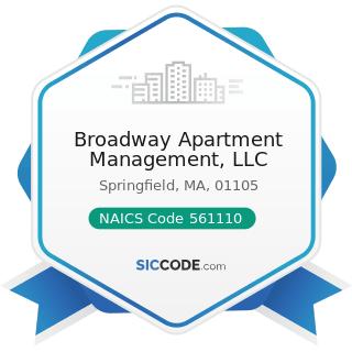 Broadway Apartment Management, LLC - NAICS Code 561110 - Office Administrative Services