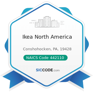 Ikea North America - NAICS Code 442110 - Furniture Stores
