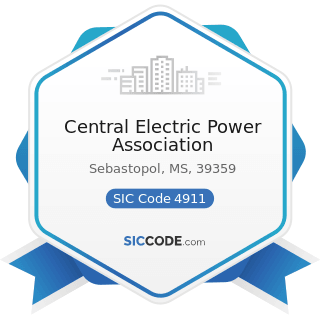 Central Electric Power Association - SIC Code 4911 - Electric Services