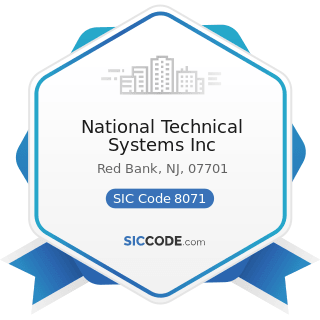 National Technical Systems Inc - SIC Code 8071 - Medical Laboratories