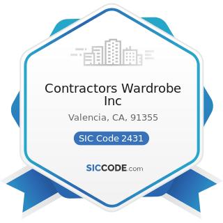 Contractors Wardrobe Inc - SIC Code 2431 - Millwork