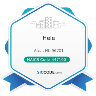 Hele - NAICS Code 447190 - Other Gasoline Stations