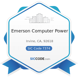 Emerson Computer Power - SIC Code 7374 - Computer Processing and Data Preparation and Processing...