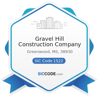 Gravel Hill Construction Company - SIC Code 1522 - General Contractors-Residential Buildings,...