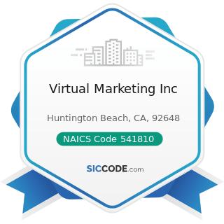 Virtual Marketing Inc - NAICS Code 541810 - Advertising Agencies