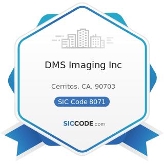 DMS Imaging Inc - SIC Code 8071 - Medical Laboratories