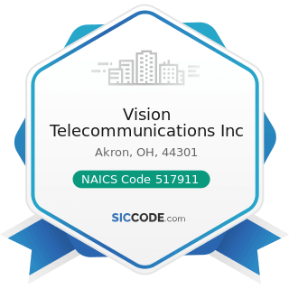 Vision Telecommunications Inc - NAICS Code 517911 - Telecommunications Resellers