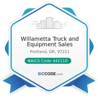 Willametta Truck and Equipment Sales - NAICS Code 441110 - New Car Dealers