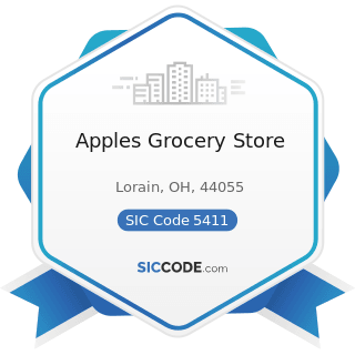 Apples Grocery Store - SIC Code 5411 - Grocery Stores
