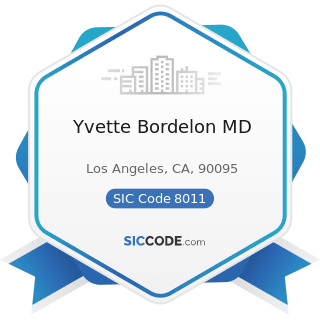 Yvette Bordelon MD - SIC Code 8011 - Offices and Clinics of Doctors of Medicine