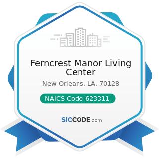Ferncrest Manor Living Center - NAICS Code 623311 - Continuing Care Retirement Communities