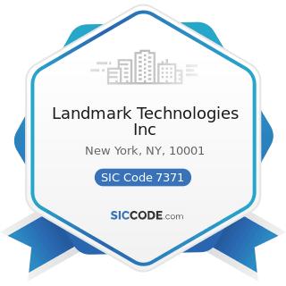Landmark Technologies Inc - SIC Code 7371 - Computer Programming Services