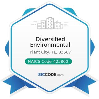 Diversified Environmental - NAICS Code 423860 - Transportation Equipment and Supplies (except...