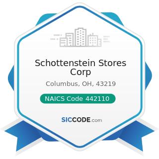 Schottenstein Stores Corp - NAICS Code 442110 - Furniture Stores