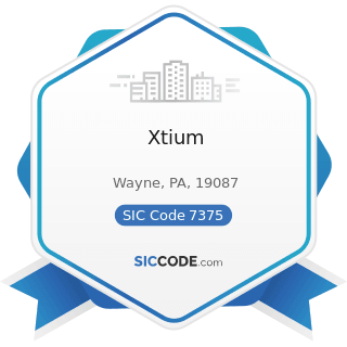 Xtium - SIC Code 7375 - Information Retrieval Services
